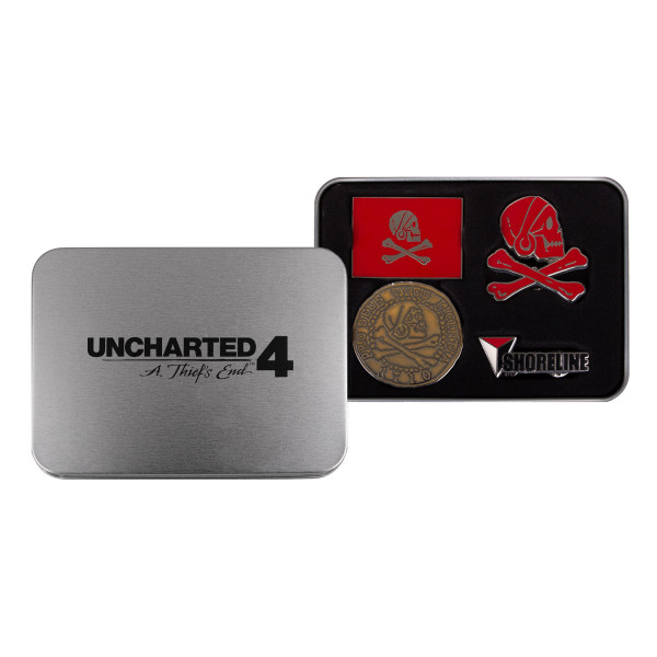 82f6d6d137 Uncharted 4  A Thief s End Pin Set Collection