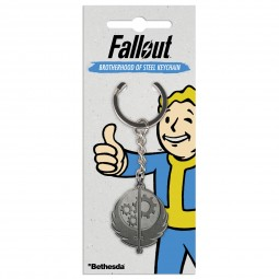 Fallout Keychain Brotherhood Of Steel