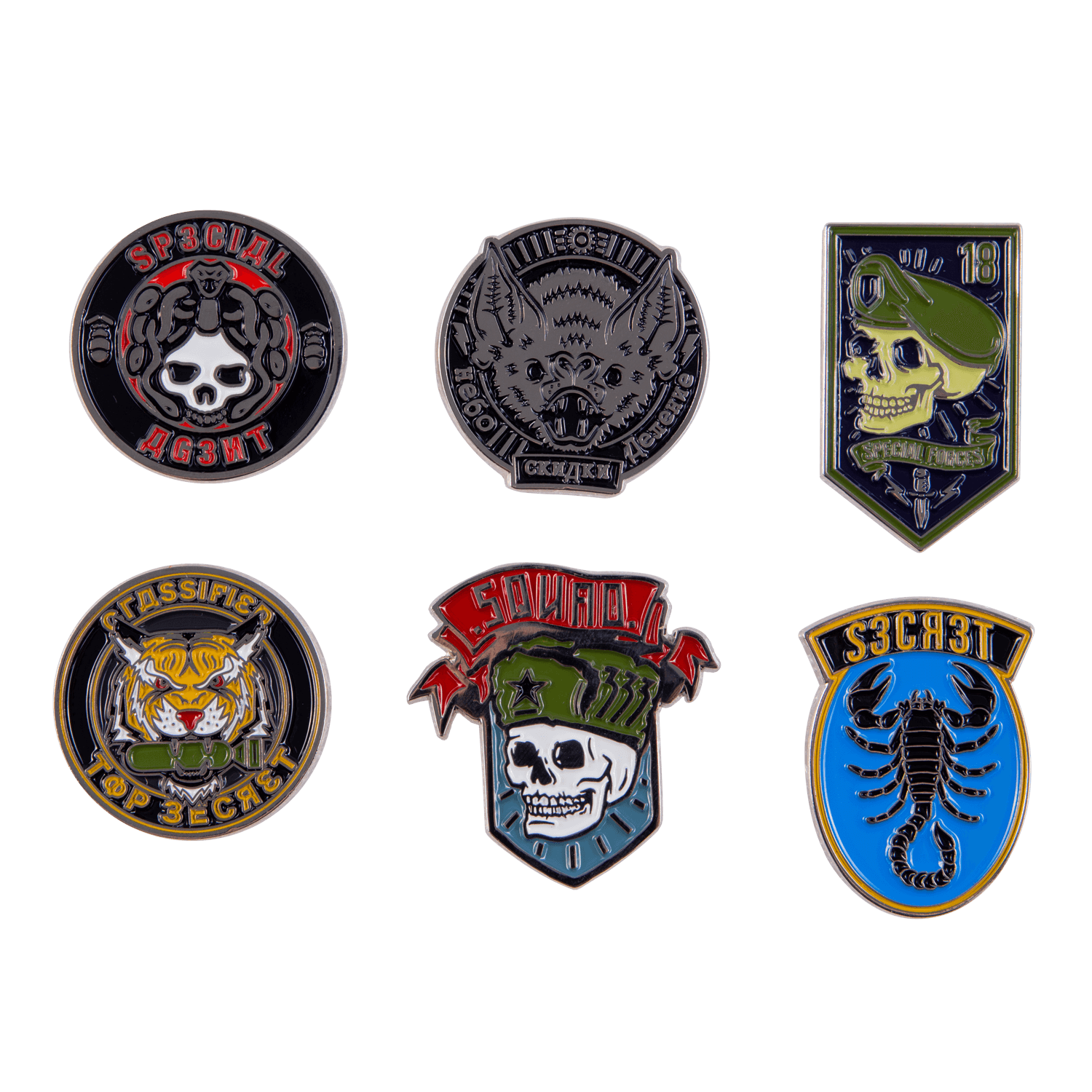 Call Of Duty Cold War Pin Set Badges Other Accessories Accessories Gaya Entertainment