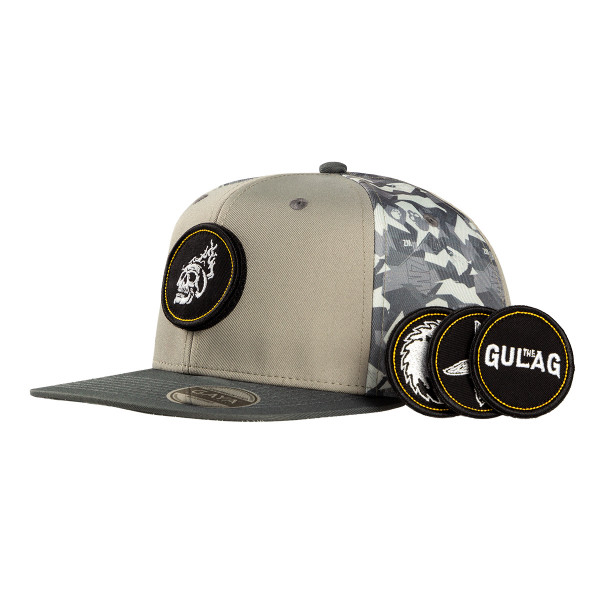 """Call of Duty: Warzone Snapback """"Military Pattern"""" (incl. 4 Patches)"""