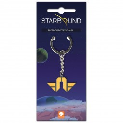 Starbound Keychain Terrene Protectorate
