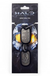 Halo 4 Dog Tags UNSC Logo
