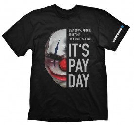 Payday 2 T-Shirt Chains Mask