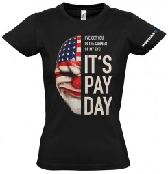 Payday 2 Girlie-Shirt Dallas Mask