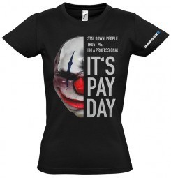 Payday 2 Girlie-Shirt Chains Mask