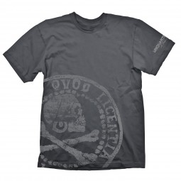 Uncharted 4: A Thief's End T-Shirt Pirate Coin Oversize