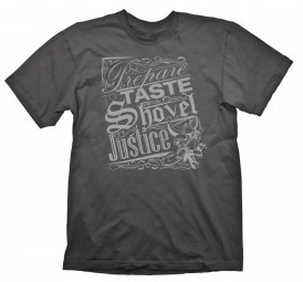 Shovel Knight T-Shirt Shovel Justice Charcoal