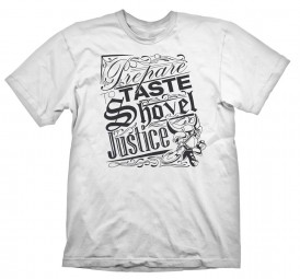 Shovel Knight T-Shirt Shovel Justice White