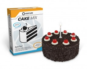 Portal 2 Baking Mix The Cake