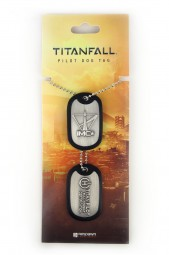 Titanfall Dog Tags Combat Certified Pilot