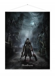 Bloodborne Wallscroll Night Street