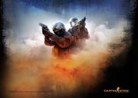 Counter-Strike: Global Offensive Poster Blue