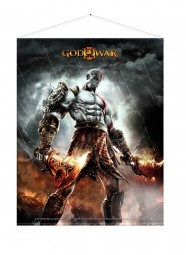 God of War Wallscroll WAR