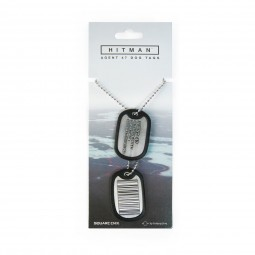 Hitman Dog Tags Barcode