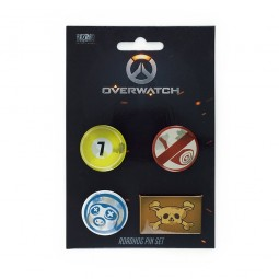 Overwatch Button Set Roadhog