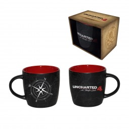Uncharted 4: A Thief's End Mug Compass Map
