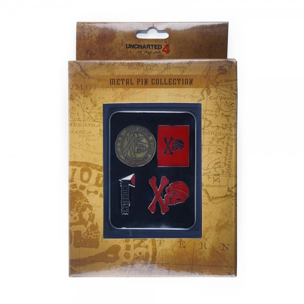 Uncharted 4: A Thief's End Pin Set Collection | Jewelry ...