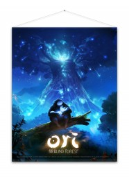 Ori and the Blind Forest Wallscroll Keyart