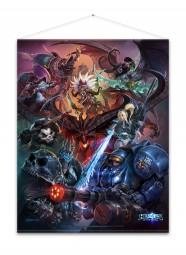 Heroes of the Storm Wallscroll Heroes