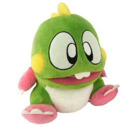 "Bubble Bobble Plush ""Bub"" Green"