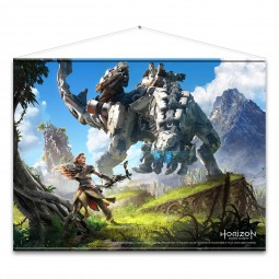 Horizon Zero Dawn Wallscroll Cover Art