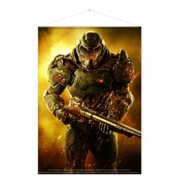 Doom Wallscroll Doom Marine