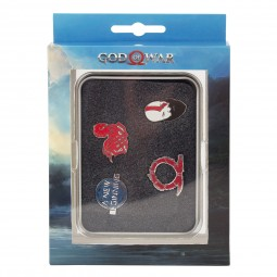 God of War Pin Set Norse Wrath