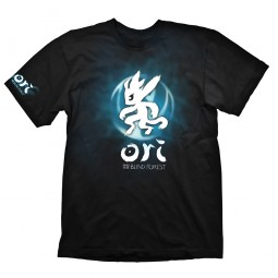 Ori and the Blind Forest T-Shirt Blue Ori & Icon