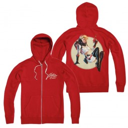 Fallout Zip-Up Hoodie Nuka Cola Pin-Up