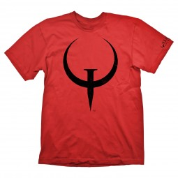 "Quake T-Shirt ""Logo"" Red"