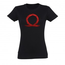 God of War T-Shirt Girlie Serpent Black
