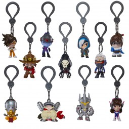 Overwatch Backpack Hangers Mystery Pack (Display with 24 pcs)