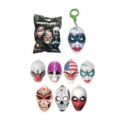 Payday 2 Backpack Hangers Masks Mystery Pack (Display Box)